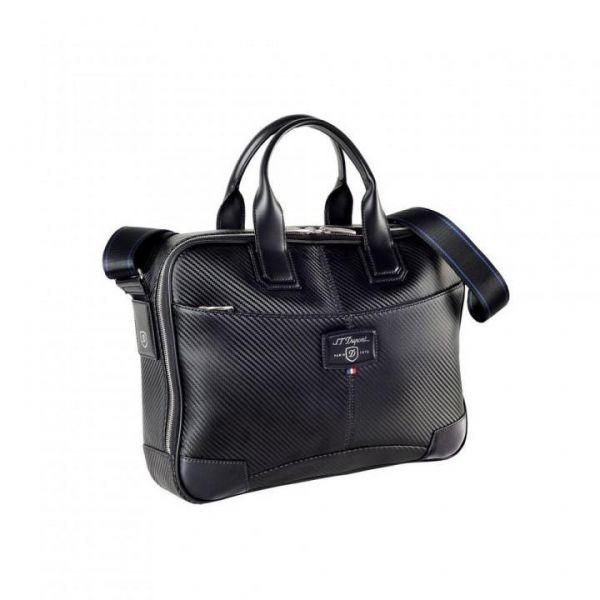 Чанта за лаптоп и документи S.T.Dupont DEFI Carbone 171002