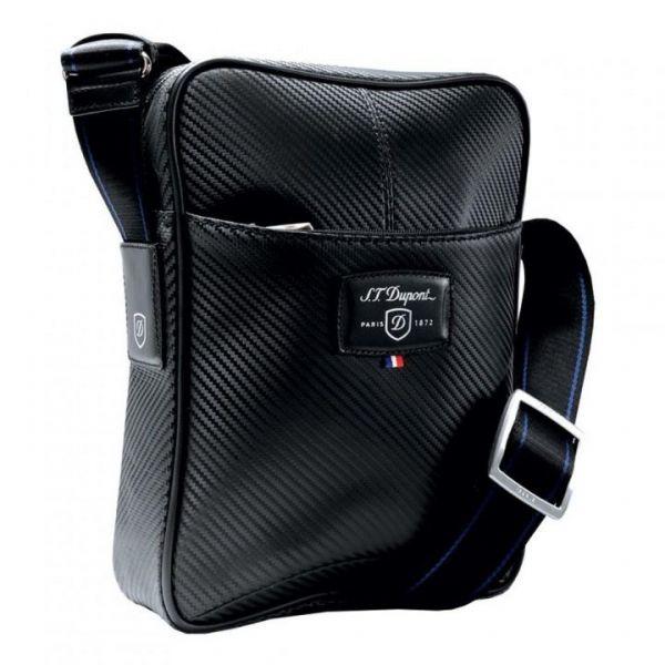 Чанта за през рамо S.T. Dupont Defi Carbone