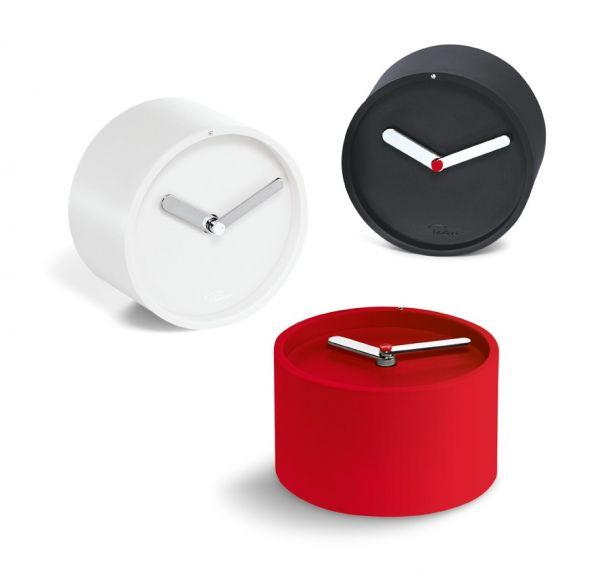 Часовник за стена TIM - бял