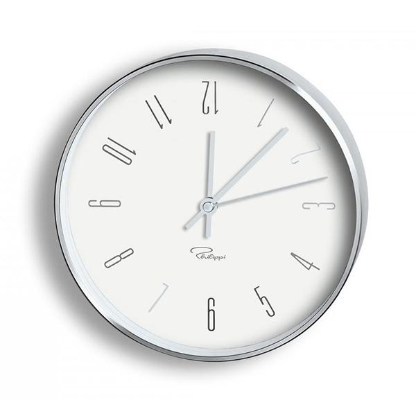 Часовник за стена Темпус - W3 - бял