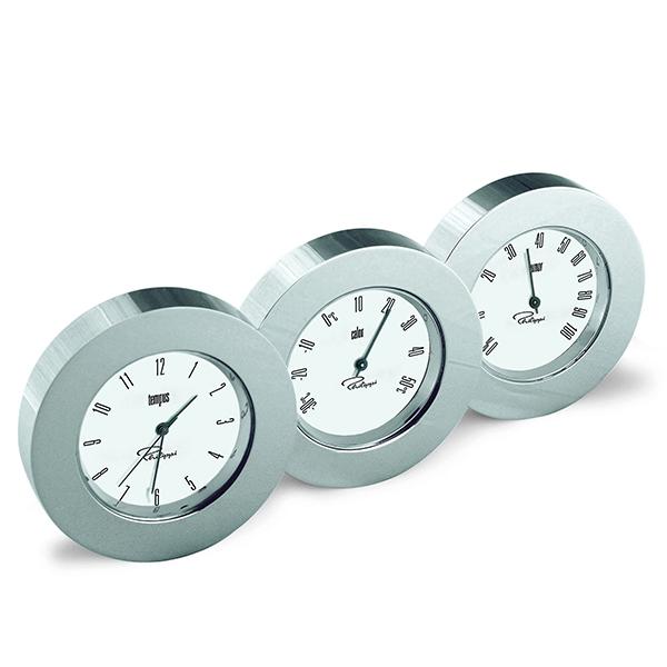 "Станция "" Трио ""- часовник, термометър ,хигрометър"