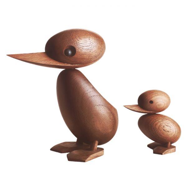 Дизайнерска фигурка - патенце, дървено