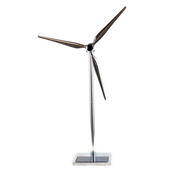 Турбина със слънчево захранване + LED