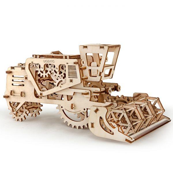 Механичен 3D пъзел - комбайн