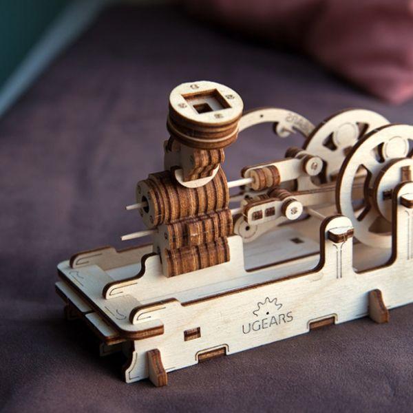 Механичен 3D пъзел - двигател