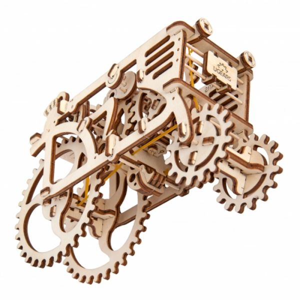 Механичен 3D пъзел - трактор