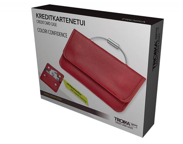 Калъф за кредитни карти и документи TROIKA - COLORI CONFIDENCE