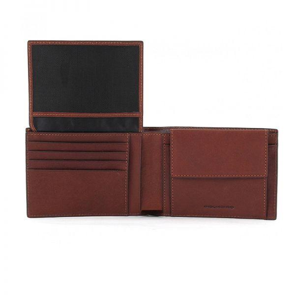 Мъжки портфейл Piquardo със 7 отделения за кредитни карти