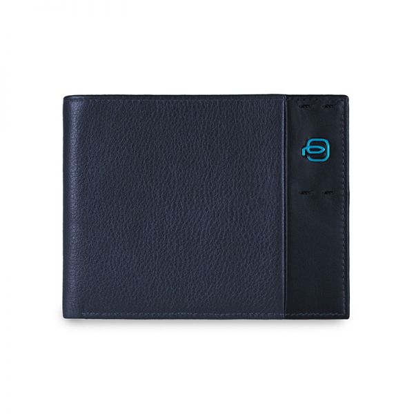 Мъжки портфейл Piquadro със 7 отделения за карти и документи