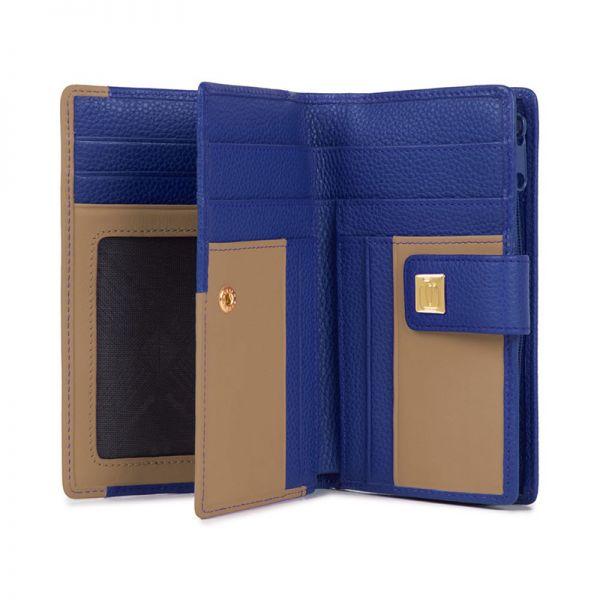 Дамски портфейл Piquadro с отделение за монети и карти