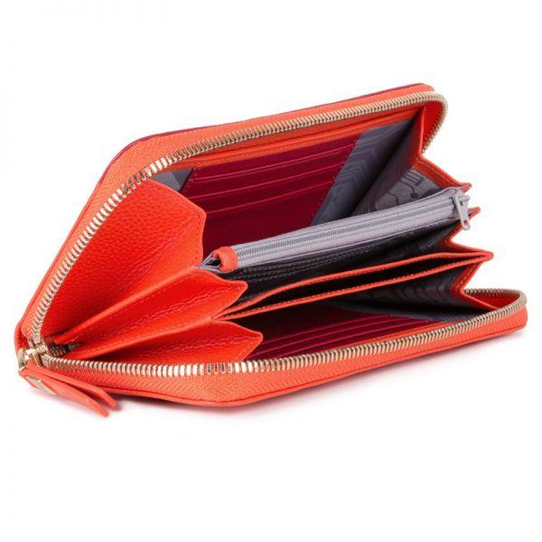 Луксозен дамски портфейл Piquadro с три отделения