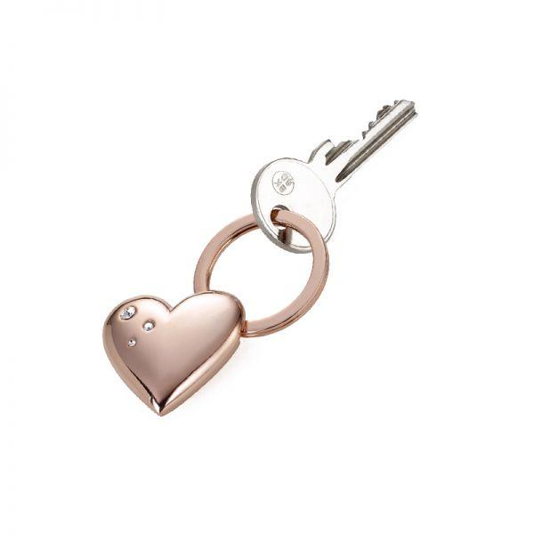 Ключодържател TROIKA - GIRLS BEST FRIEND - ROSY HEART