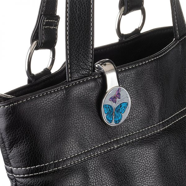 Закачалка за чанта TROIKA - Vintage Butterflies
