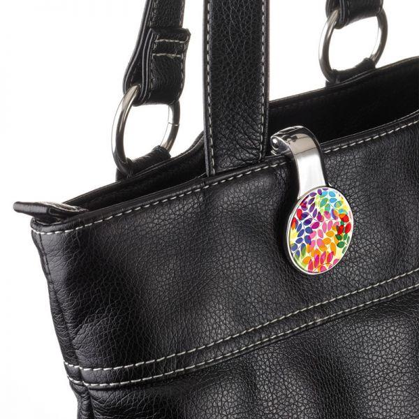 Закачалка за чанта TROIKA - COLOURFUL LEAVES