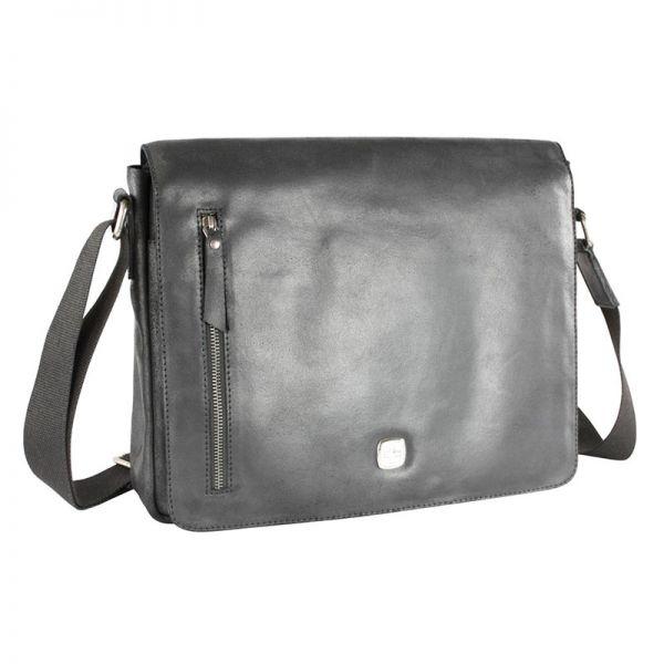 Кожена чанта Wenger CLOUDY, за лаптоп 13', черна