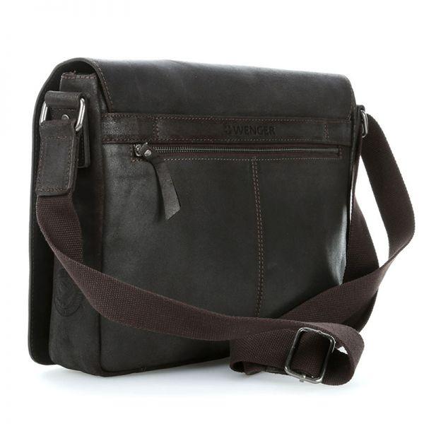 Кожена чанта Wenger CLOUDY, за лаптоп 13', кафява