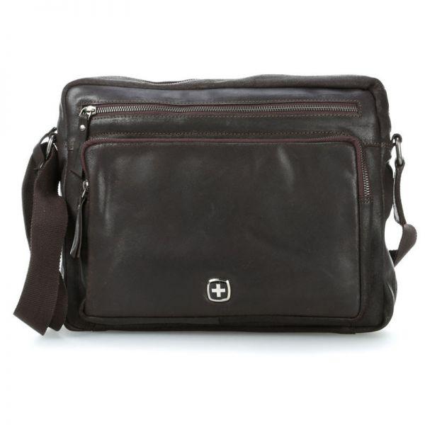 Кожена чанта Wenger CLOUDY, за лаптоп 12'