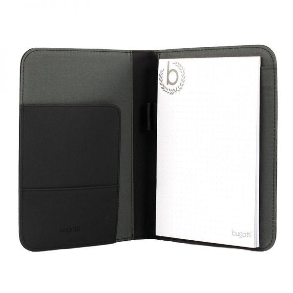 Бизнес папка Bugatti Ufficio А5, черна