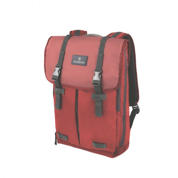 Раница Victorinox Plapover Laptop Backpack, червена