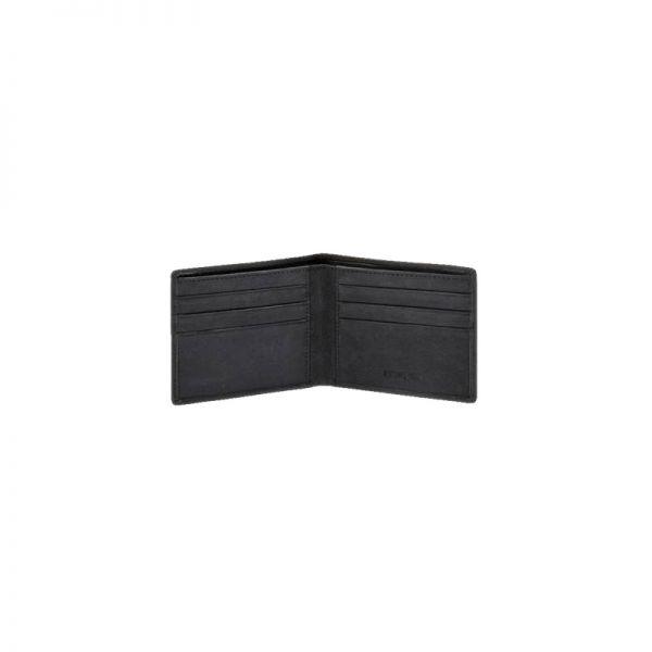 Черен мъжки портфейл Samsonite