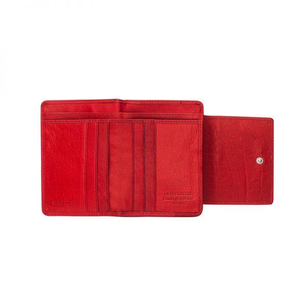 Дамски сет PIERRE CARDIN - червен портфей