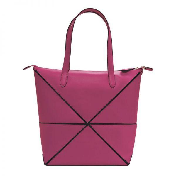 Дамска чанта Cross Origami Collapsible, голям размер, розова