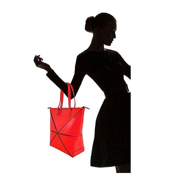 Дамска чанта Cross Origami Collapsible, голям размер, лилава