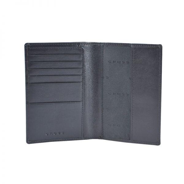 Портфейл за международен паспорт Cross Ariel с химикал