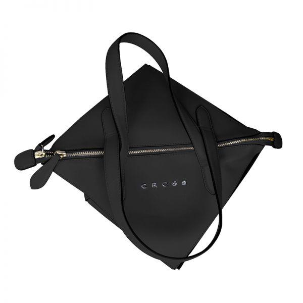 Дамска чанта Cross Origami Collapsible, голям размер, черна