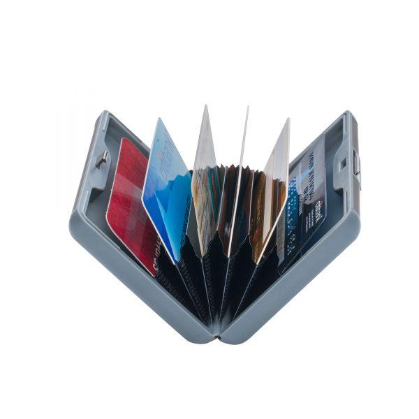Органайзер за документи и кредитни карти Pierre Cardin, перлено и сиво