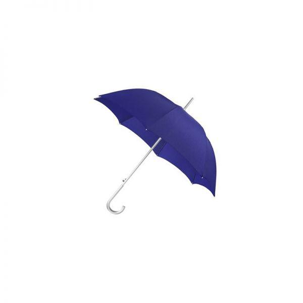 Син дамски автоматичен чадър