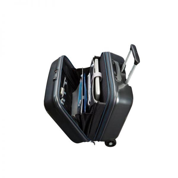 Мобилен офис на 2 колела Ultimocabin 40 см, черен цвят
