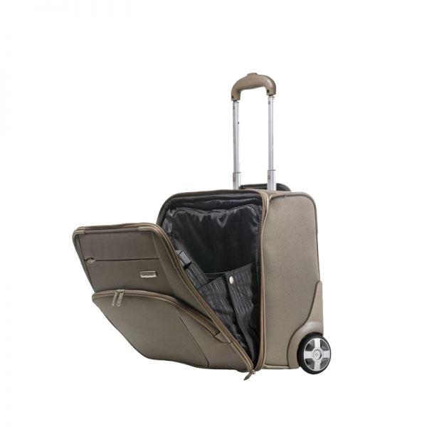 Бизнес чанта на колела X'Pression 45 см. за 16.4 инча лаптоп цвят шампанско