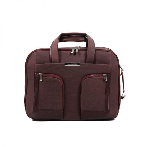 """Бизнес чанта с разширение S-Teem за 15,6"""" лаптоп цвят ръжда"""