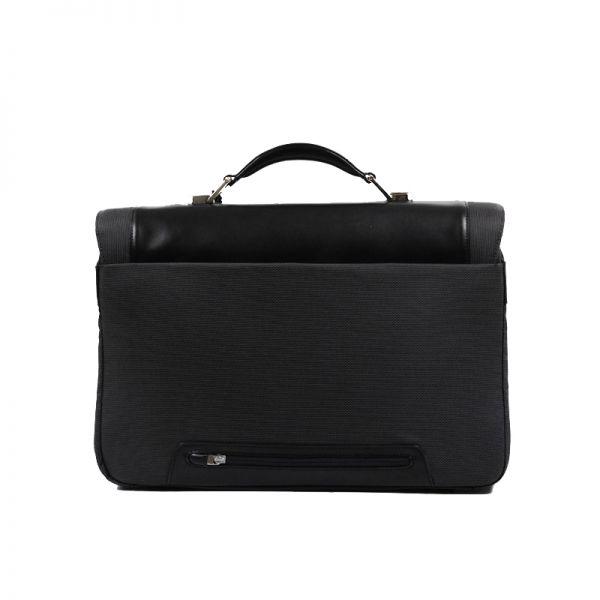 """Бизнес чанта с 3 прегради S-Teem за 16,4"""" лаптоп черен цвят"""