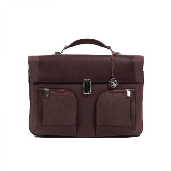 """Бизнес чанта с 2 прегради S-Teem за 16,4"""" лаптоп цвят ръжда"""