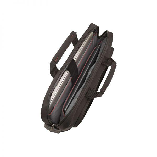 Черна бизнес чанта за 17,3 инча лаптоп Guardit