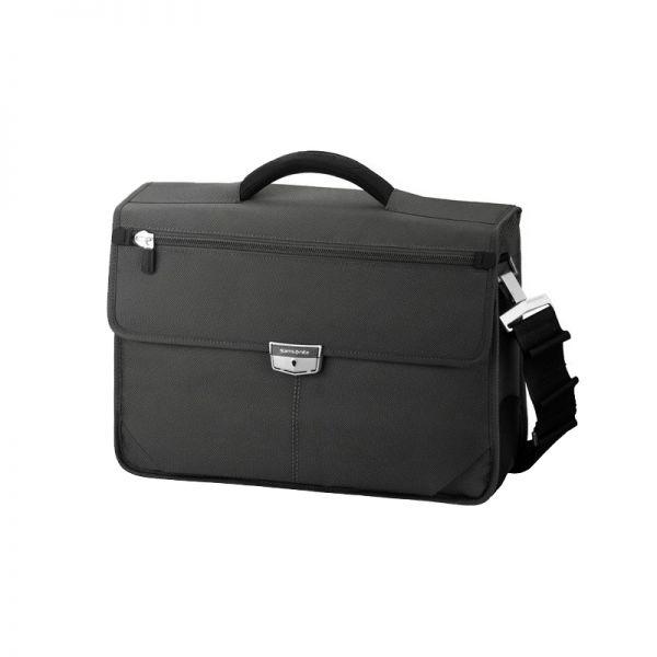 Бизнес компютърна чанта с 1 преграда Avior за 15,6 инча лаптоп черен цвят