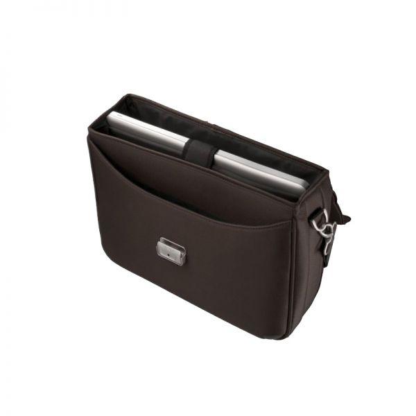 Кафява бизнес чанта X'ion3 за 16 инча лаптоп с три прегради
