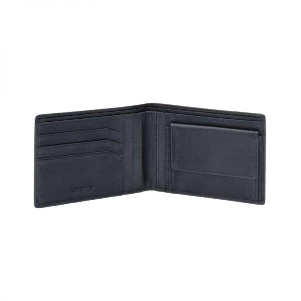 Мъжки портфейл Samsonite с 6 отделения за карти и документи