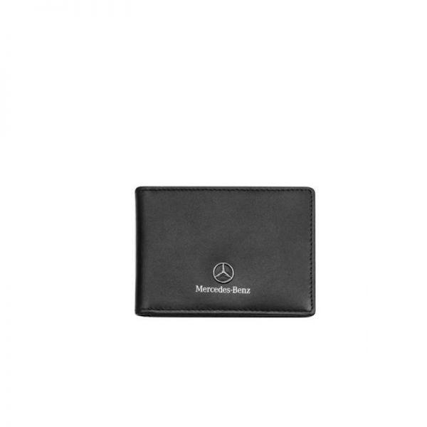 Сет Mercedes Benz, калъф за документи и ключодържател