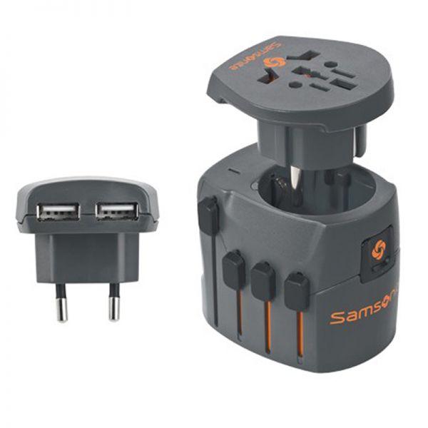 Samsonite World адаптер с USB порт
