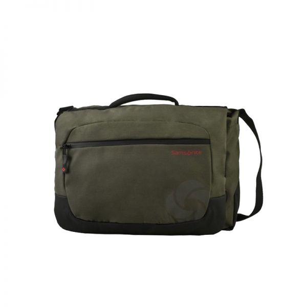 Зелена чанта Debyte, размер L, за 16,4 инча лаптоп