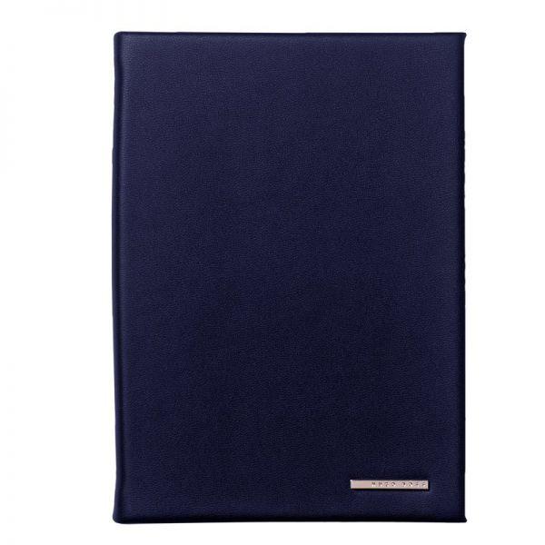 Тефтер А6 HUGO BOSS ESSENTIAL DARK BLUE