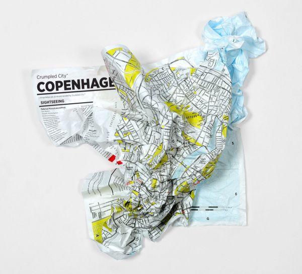 Градска карта Palomar, Crumpled City - Hamburg