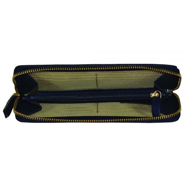 Дамски портфейл Cross, колекция Elegante, тъмно син