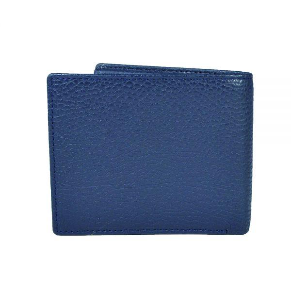 Мъжки портфейл с монетник Cross Hudson, тъмно син