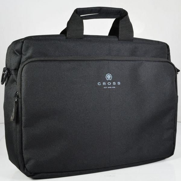 Мъжка чанта за лаптоп и документи Cross Renovar (полиестер)