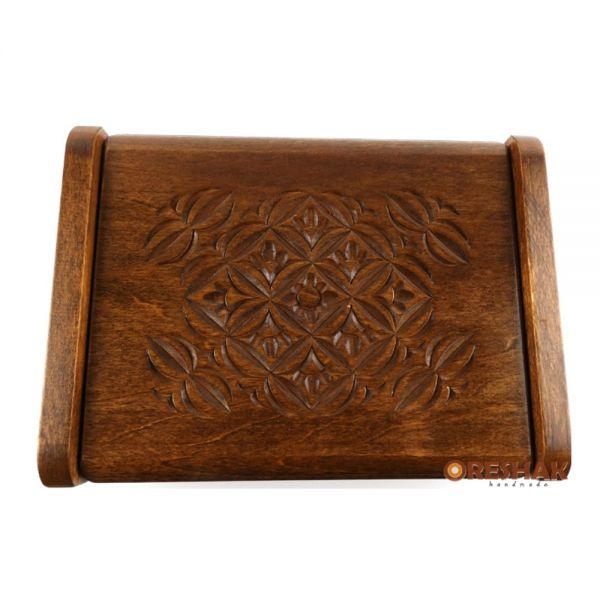 Кутия за бижута, Цвете, опушен ефект