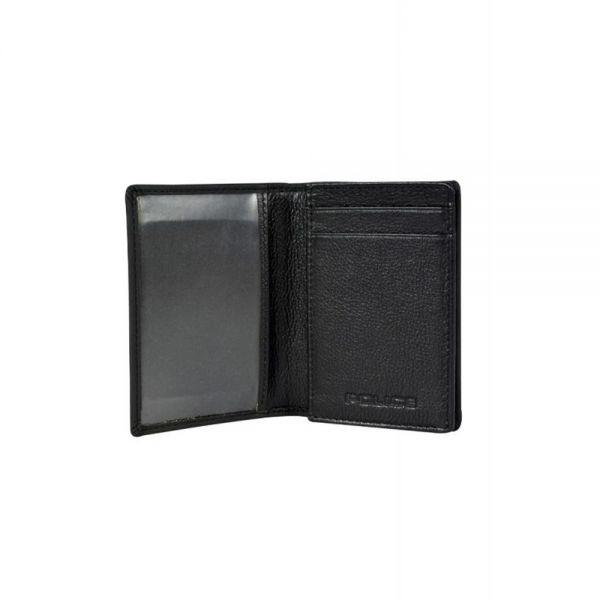 Калъф за документи, карти и визитки Police Pyramid, черен